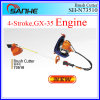 Hot! ! ! Gx35 4-Stroke Knapsack Gasoline Grass Cutter