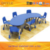 Kinderen Plastic Desk/Table en Chair voor School (ifp-024)