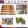 Trilho de condutor de grua elétrica segura com isolamento de corrente intensa pesada