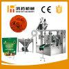 La buena reputación de Seguridad Alimentaria garantizada polvo de especias rotativo Maquinaria de embalaje