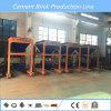 Máquina de fatura de tijolo Qt10-15 automática com qualidade européia