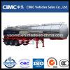 Cimc 3 acoplado del tanque de aceite de los árboles 42cbm