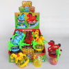 Pferd Musical Flash Top Toy mit Candy Toys und Candy (131125)
