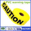 Одиночное или двойное изготовление предупреждающий ленты PVC цветов