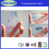 Semi-Transparent Plastic Pet oder PVC Card