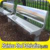 Banco feito-à-medida do assento do aço inoxidável para o parque e o jardim