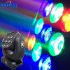 lumière principale mobile du lavage LED de 9PCS*15W Matrix