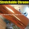 Película anaranjada del abrigo del coche del cromo del espejo