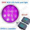 12V muur Opgezette LEIDENE Pool Lichte PAR56, Remote/DMX RGB Controle IP68