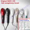 Pettine magico di ceramica elettrico professionale del raddrizzatore dei capelli