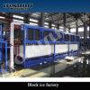 Bloco de gelo da boa qualidade que faz a planta da máquina