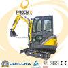 Mini excavadora con Yanmar Pequeño Certificado Excavadora CE 1.8 Toneladas (CT18-7B)