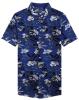 Strand-Abnützung gedrucktes Aloha hawaiisches Hemd der Männer
