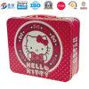 Caja encantadora del caramelo de la boda, latas de lata impresas del metal Jy-Wd-2015120206