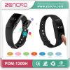Bracelet intelligent d'écran tactile de fréquence cardiaque imperméable à l'eau de Bluetooth