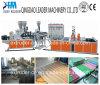 Plastik PVC+PMMA runzelte Dach-Blatt glasig-glänzende Dach-Fliese-Maschinen-Strangpresßling-Zeile