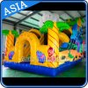 Giant Inflatable Elephant Dry Slide for Children Jeux