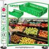 Caixa Stackable e Foldable plástica do armazenamento para frutas