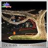 Luz ao ar livre do feriado do Natal da luz da decoração do diodo emissor de luz da árvore