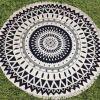 さまざまで新しいMicrofiberの円形の曼荼羅のふさのビーチタオル