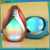 Altavoz portable de Bluetooth de la dimensión de una variable de la gota del agua con la luz del LED
