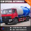Eaux d'égout de camion d'évacuation d'eaux d'égout de Dongfeng 16m3 14m3 aspirant le camion de réservoir