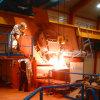 Forno de fusão de indução industrial 1000kw para fundir latão, aço, ferro