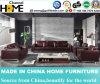 Sofá secional com sala de estar de couro com venda a quente (HC216)