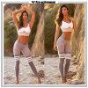 Pantaloni su ordinazione di yoga di nuovo modo di modo con le cinghie