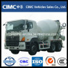 Тележка 8 конкретного смесителя Hino 6X4 до 10 Cbm