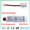 Amplificatore chiave del regolatore della luminosità del regolatore mini 3 per RGB 5050 striscia 12V dell'indicatore luminoso dei 3528 LED