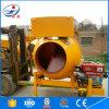 De mini Mixer van het Cement van de Concrete Mixer van de Trommel van de Dieselmotor Mobiele 350L