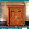 Personalizzare il portello di legno solido anteriore della villa