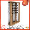 Exhibición de las gafas de sol de la exhibición de madera