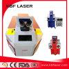 Saldatura a punti del laser di CNC del metallo dei monili automatici della lega/macchina del saldatore