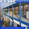 가벼운 강철 건물 Temproray 사무실 Domitory 야영지를 위한 샌드위치 위원회의 Prefabricated 콘테이너 집