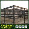 Fábrica prefabricada del almacén del edificio de la estructura de acero del taller de la alta calidad