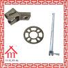 Andamio galvanizado Q345 /Construction del sistema de Ringlock que construye el material de acero del andamio