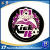 Fußball-Förderung-Münze mit weichem Decklack und Epoxy-Kleber (Ele-C053)