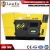 Générateur 18kVA/18kw diesel silencieux triphasé refroidi à l'eau de Lonfa pour l'industrie