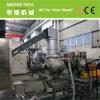 두 배 단계 낭비 PP PE 플레스틱 필름 알갱이로 만드는 기계