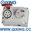 Qixing Cee/IEC Waterproof o soquete com interruptor e bloqueia (QX7276)