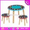 卸し売り安い高品質W08g226の一次および幼稚園の木の幼児椅子そして表