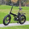 Cor personalizada que dobra a bicicleta elétrica do pneu gordo