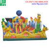 Aufblasbare Krake Funcity, großer aufblasbarer Spielplatz (BJ-FU01)