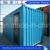 Het vlakke Huis van de Container van het Pak Gemakkelijke Installatie Geprefabriceerde van het het Lichte Frame van het Staal en Comité van de Sandwich