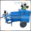 Facile à utiliser et déplacer la pompe de mortier à chaux hydraulique de SLL