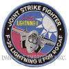 F-35 공군에 의하여 수를 놓는 패치