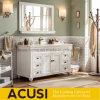 ミラーとの熱い販売の現代様式の純木の浴室の虚栄心