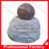Fontaine d'eau en pierre de boule de roulement de qualité